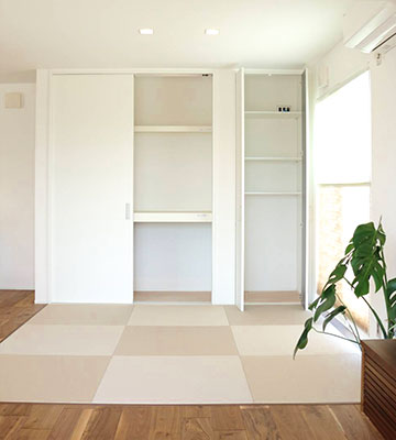 便利な収納 リビング収納 高気密・高断熱の家 長浜市 彦根市 住宅 新築